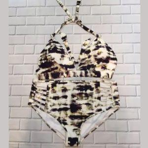 9f5703cfffa4e RACHEL Rachel Roy Swim - Rachel Roy Marble Tie Dye Plus Size Bikini